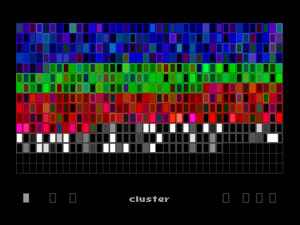 polychromatic cluster